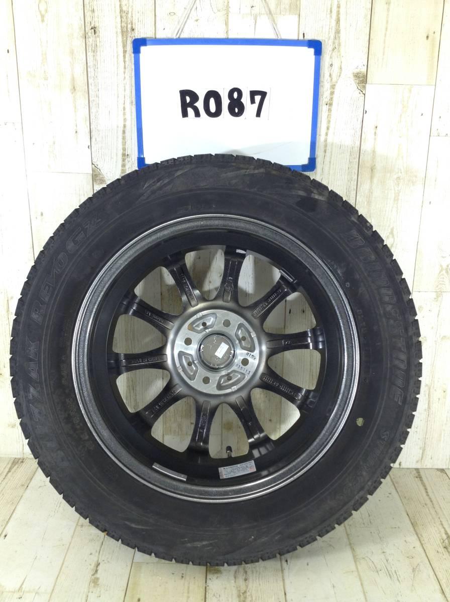 R087 タイヤホイール1本 Tirado ETA 4H/PCD100 175/65R15 4.5J Offset +45 スタッドレスタイヤ BRIDGESTONE BLIZZAK REVO GZ_画像5