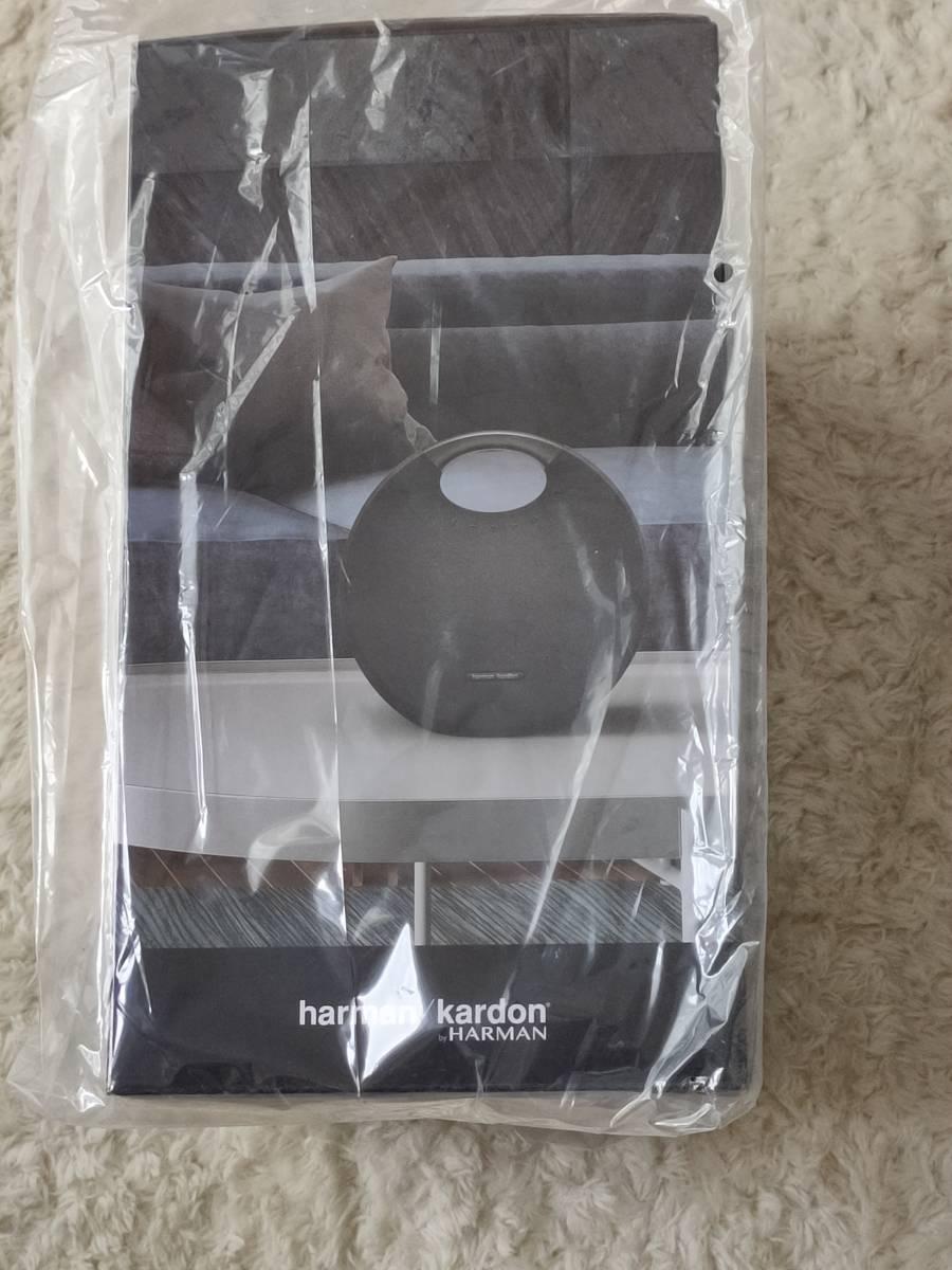 新品 Harman Kardon ONYX STUDIO 6 ワイヤレスポータブルスピーカー グレー/ Bluetooth/防水/IPX7対応_画像2