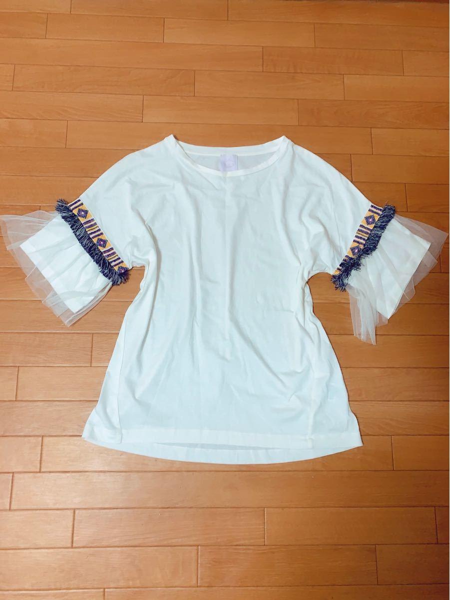 バブブージュルード 半袖Tシャツ  カットソー
