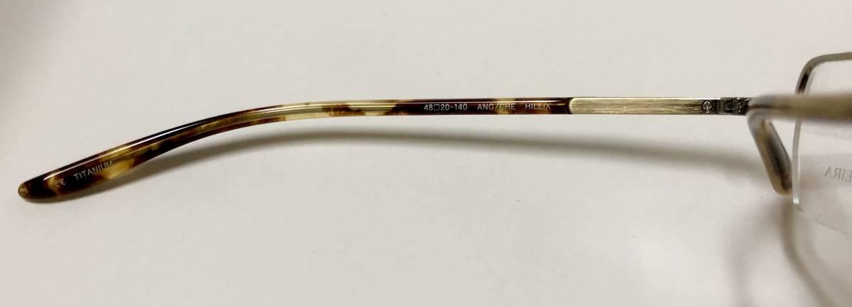 定価 84,000円 バートンペレイラ ヘリックス 正規日本製 アンティークゴールド 純正ケース付き 六角形メガネ Barton Perreira 米国ブランド_画像6