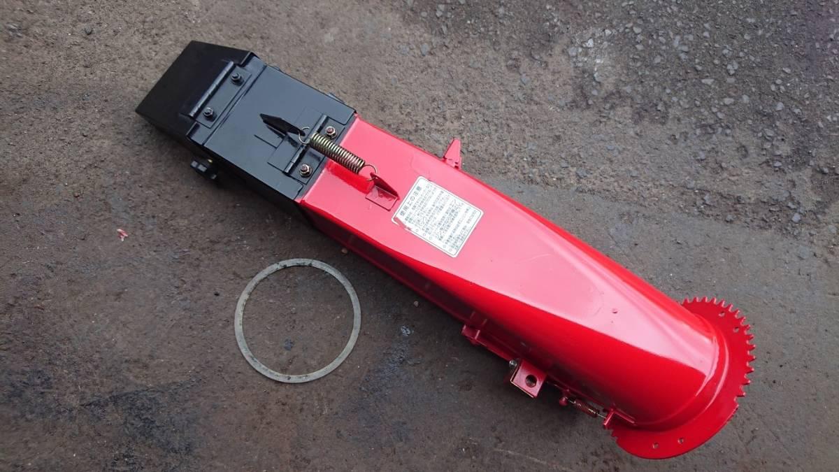 ヤンマー除雪機 部品 YSR80X シューター ⑦ 錆とりサフェサー塗装済_画像1