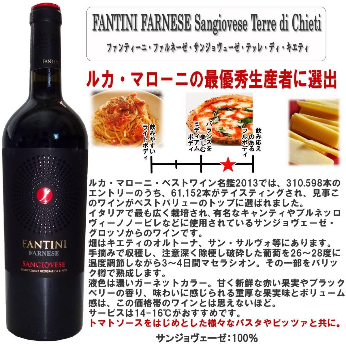 厳選イタリア赤ワイン イタリア名家飲み比べ ソムリエ厳選ワインセット 赤ワイン 750ml 5本_画像3