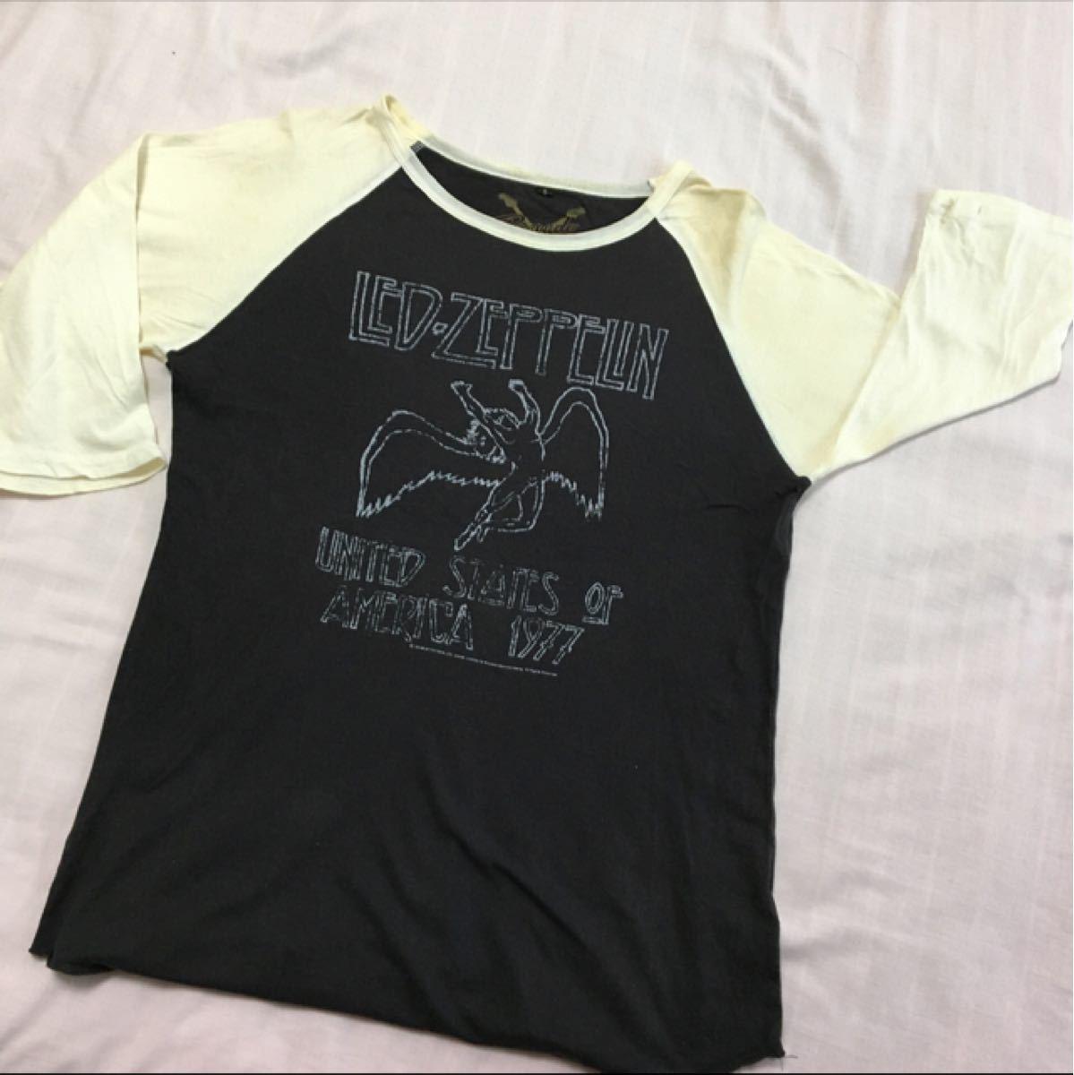 バンドTシャツ Led Zeppelin 七分袖