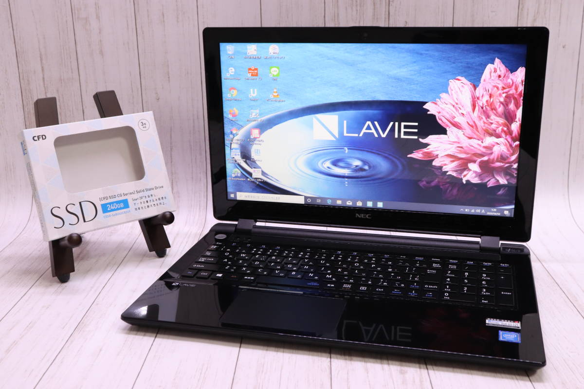 【2016年発売モデル薄型☆最新WIN10】NEC LAVIE NS150/D☆Celeron Dual-Core 3215U☆爆速