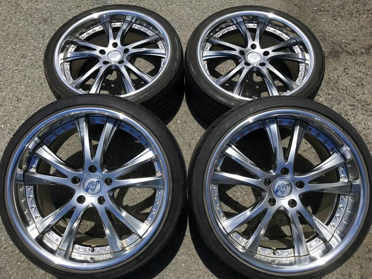 深リム SSR ヴィエナ メリージア 希少 PCD120 レクサス LS460 LS600 LS500 LC500 BMW 5シ