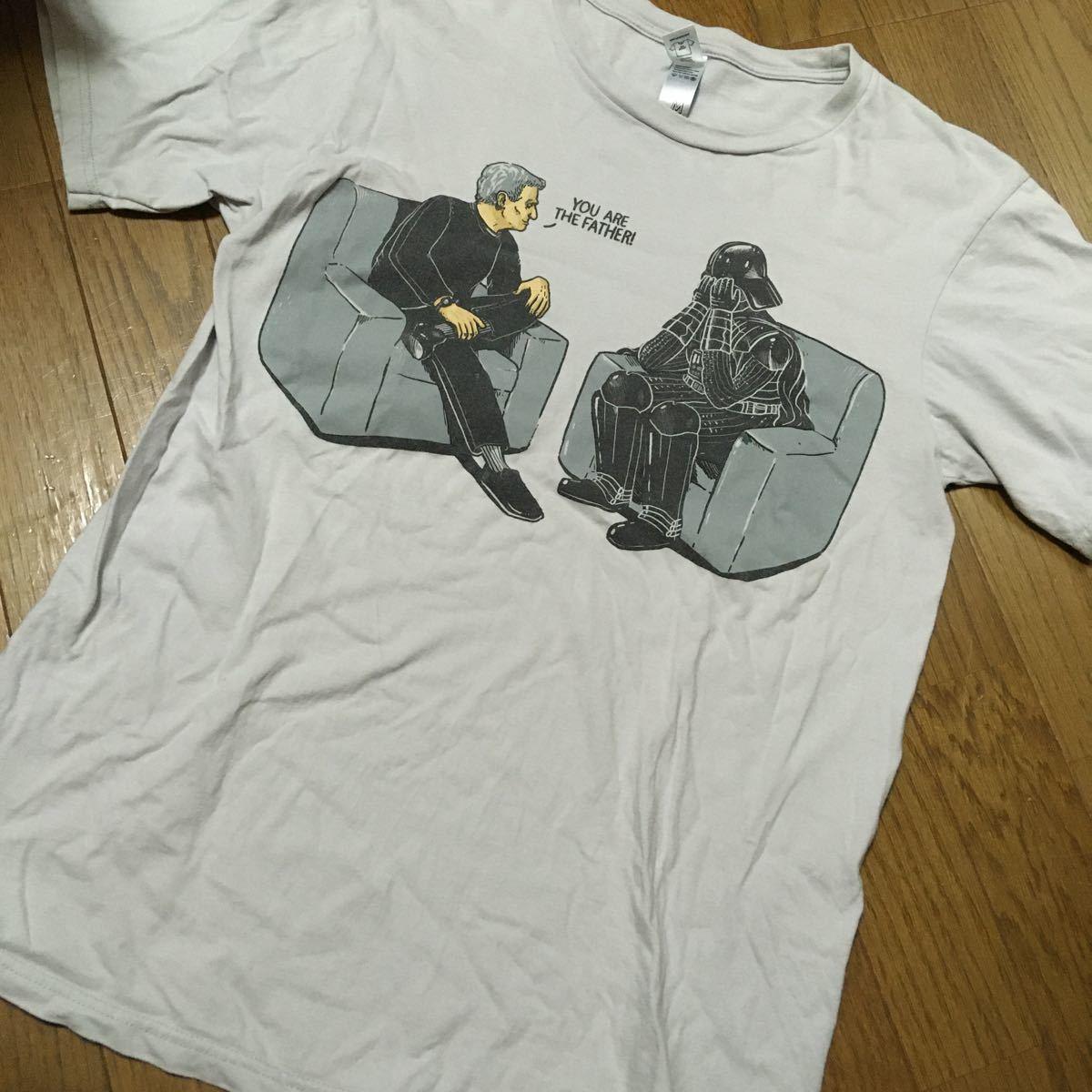 スターウォーズ ダースベイダー ダークサイド シス 暗黒面 映画 半袖Tシャツ