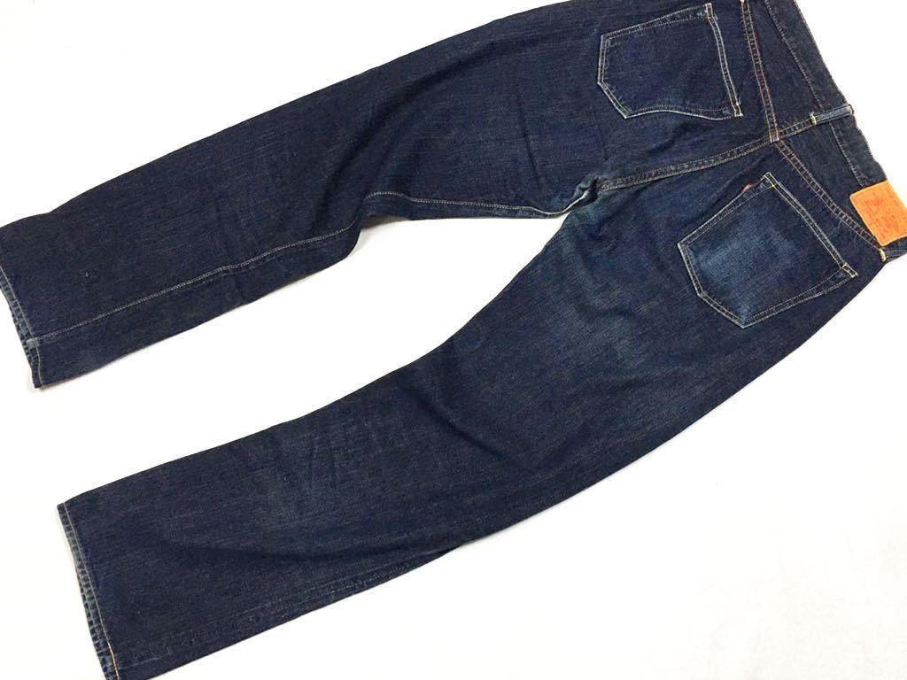 旧ジョーマッコイ JOE McCOY ヴィンテージ501xx風 901デニムジーンズ パンツ 30/W79裾上げ未加工ロング丈REAL McCOY リアルマッコイズ_画像2