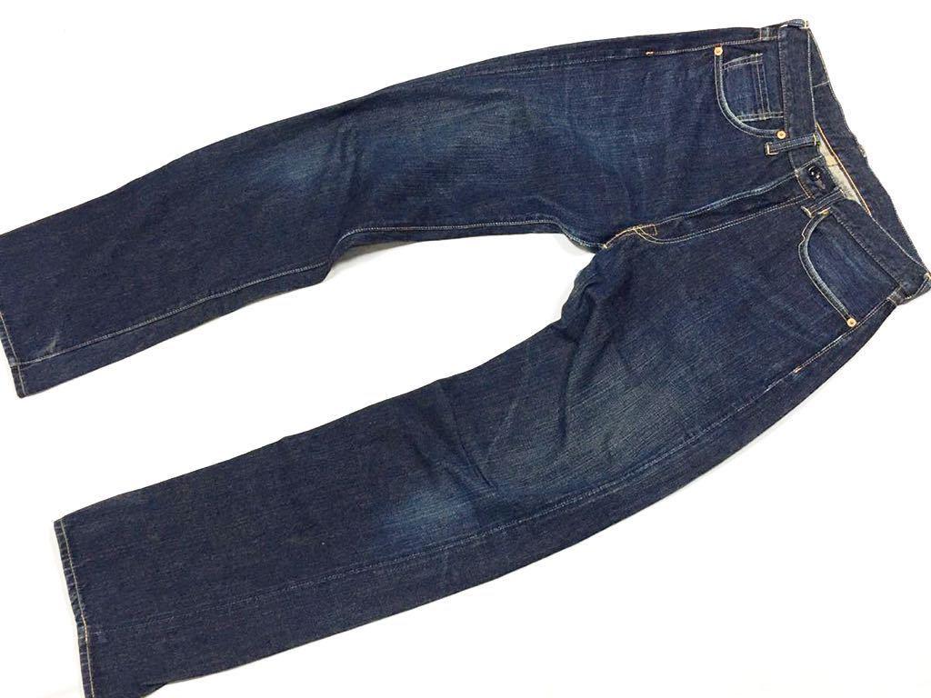 旧ジョーマッコイ JOE McCOY ヴィンテージ501xx風 901デニムジーンズ パンツ 30/W79裾上げ未加工ロング丈REAL McCOY リアルマッコイズ_画像1