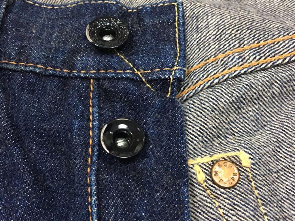 旧ジョーマッコイ JOE McCOY ヴィンテージ501xx風 901デニムジーンズ パンツ 30/W79裾上げ未加工ロング丈REAL McCOY リアルマッコイズ_画像6