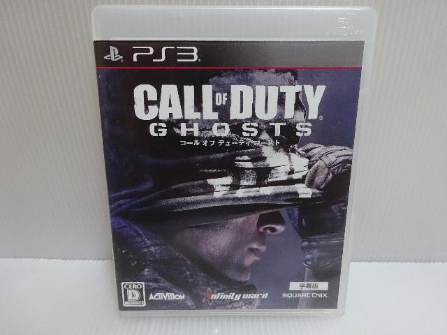 良品 PS3ソフト CALL OF DUTY GHOSTS コール オブ デューティ ゴースト メール便_画像1