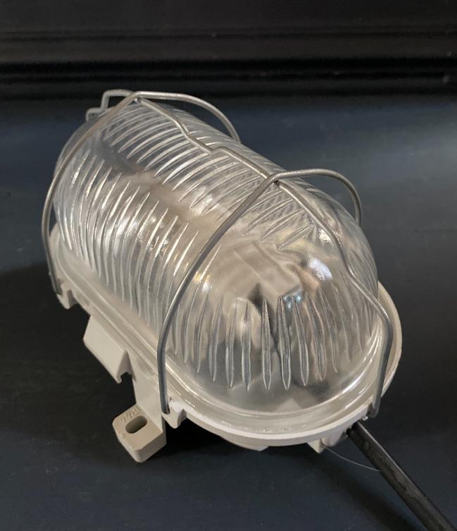 フランスヴィンテージカプセルランプW1/アンティークヨーロッパインダストリアル照明器具インテリアデザイン店舗内装什器アトリエカフェ_画像9