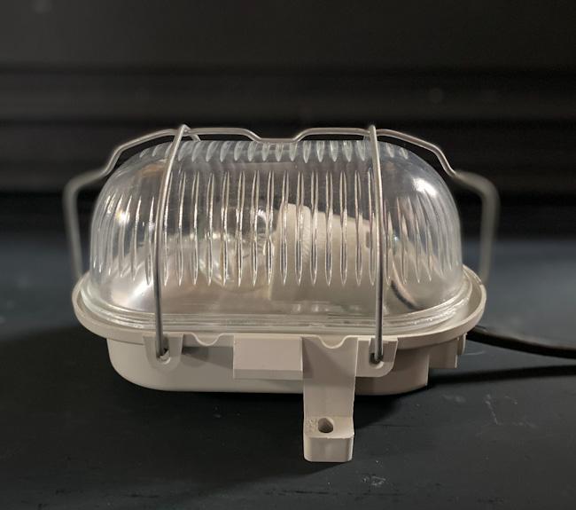 フランスヴィンテージカプセルランプW1/アンティークヨーロッパインダストリアル照明器具インテリアデザイン店舗内装什器アトリエカフェ_画像3