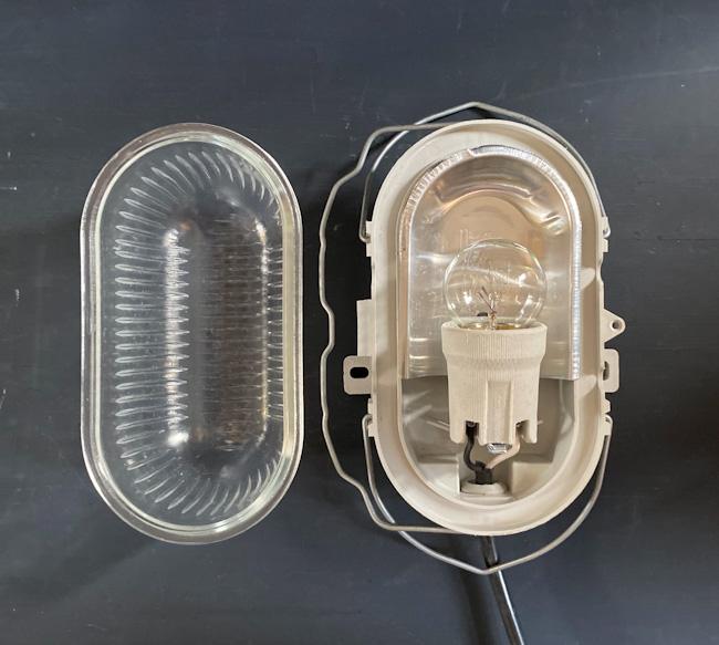 フランスヴィンテージカプセルランプW1/アンティークヨーロッパインダストリアル照明器具インテリアデザイン店舗内装什器アトリエカフェ_画像7