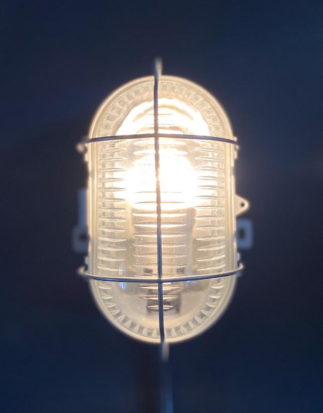 フランスヴィンテージカプセルランプW1/アンティークヨーロッパインダストリアル照明器具インテリアデザイン店舗内装什器アトリエカフェ_画像2