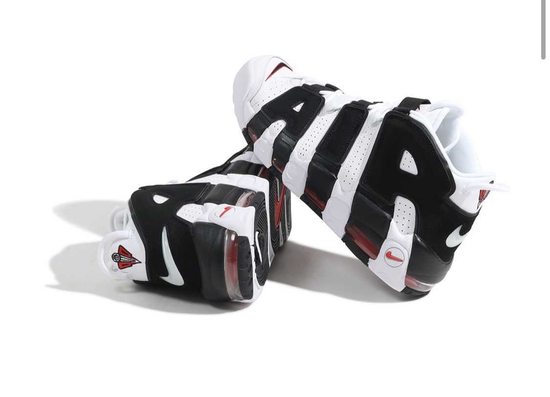 "NIKE AIR MORE UPTEMPO SCOTTIE PIPPEN ""WHITE/BLACK"" 27.0 us9 ..."