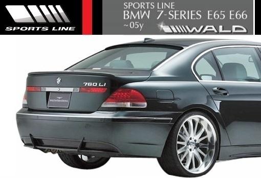 【M's】E65 E66 BMW 735i 745i 745Li 760Li 前期用(2001y-2005y)WALD SPORTS LINE トランクスポイラー//FRP エアロ ヴァルド 7シリーズ_画像3