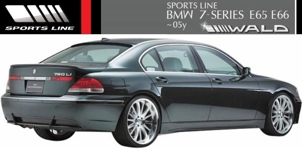 【M's】E65 E66 BMW 735i 745i 745Li 760Li 前期用(2001y-2005y)WALD SPORTS LINE トランクスポイラー//FRP エアロ ヴァルド 7シリーズ_画像2