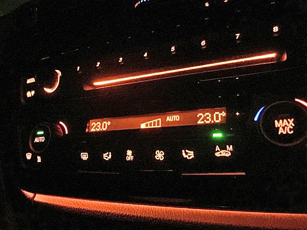 【M's】F30/F31/F34/F80 3シリーズ 後期仕様 エアコンパネル GBK_画像4