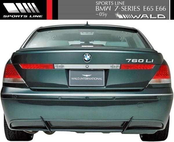 【M's】E65 E66 BMW 7シリーズ 前期用(2001y-2005y)WALD SPORTS LINE ルーフスポイラー//FRP エアロ ヴァルド735i 745i 745Li 760Li_画像3