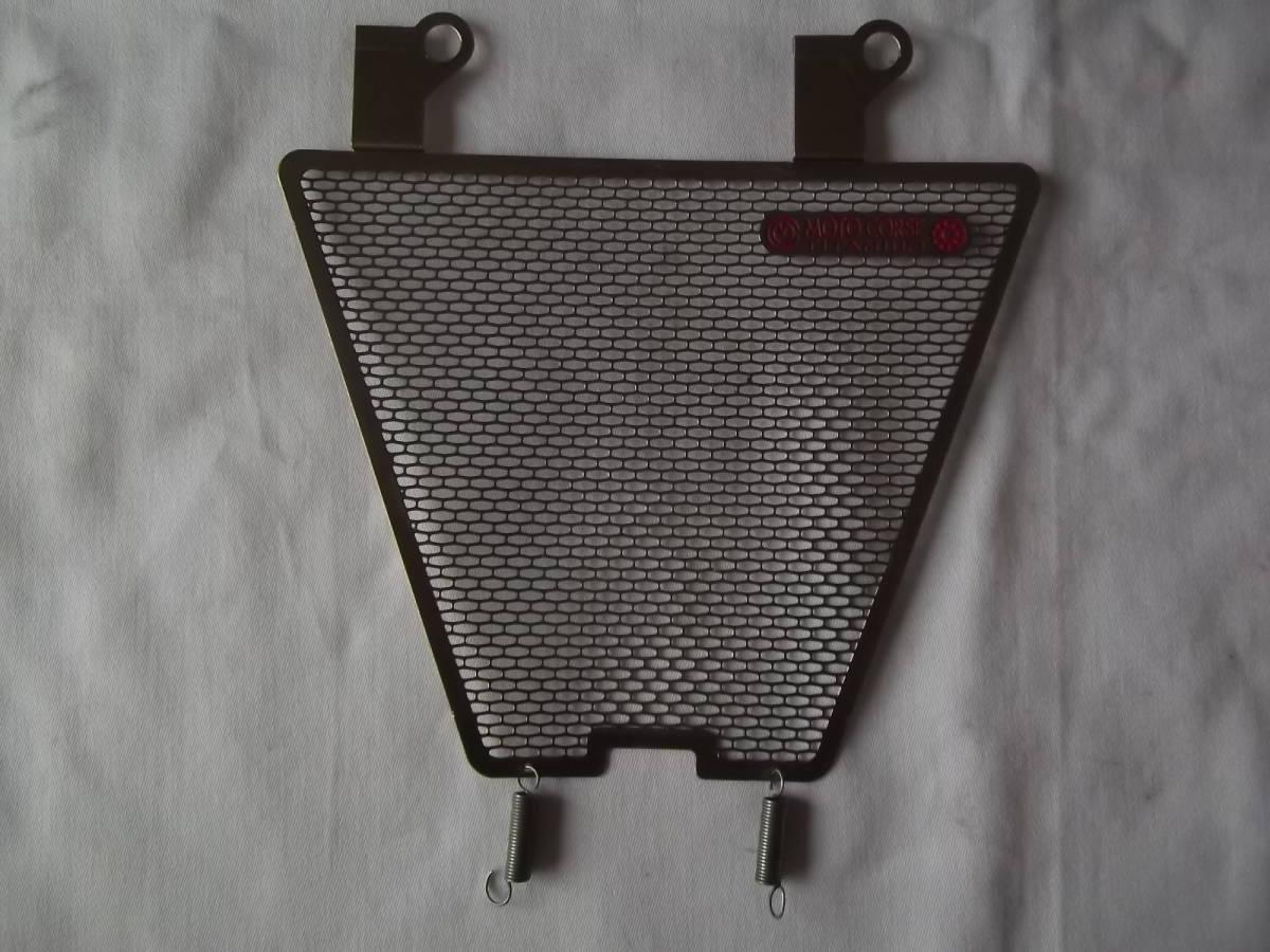 中古 1098 1198 モトコルセ チタニウム プロテクションスクリーン オイルクーラー ラ_画像1