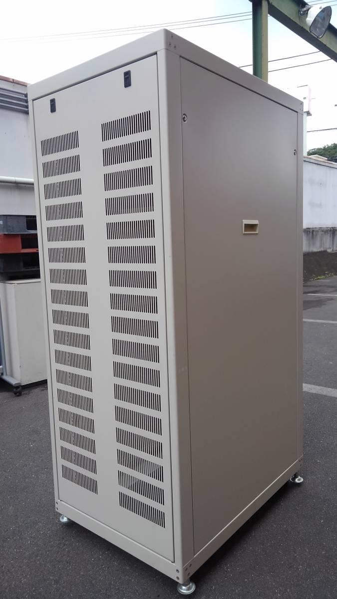 摂津金属工業 SNR-30U6090N2 ネットワークラック サーバーラック システムラック 19インチラック 30U 中古美品_画像2