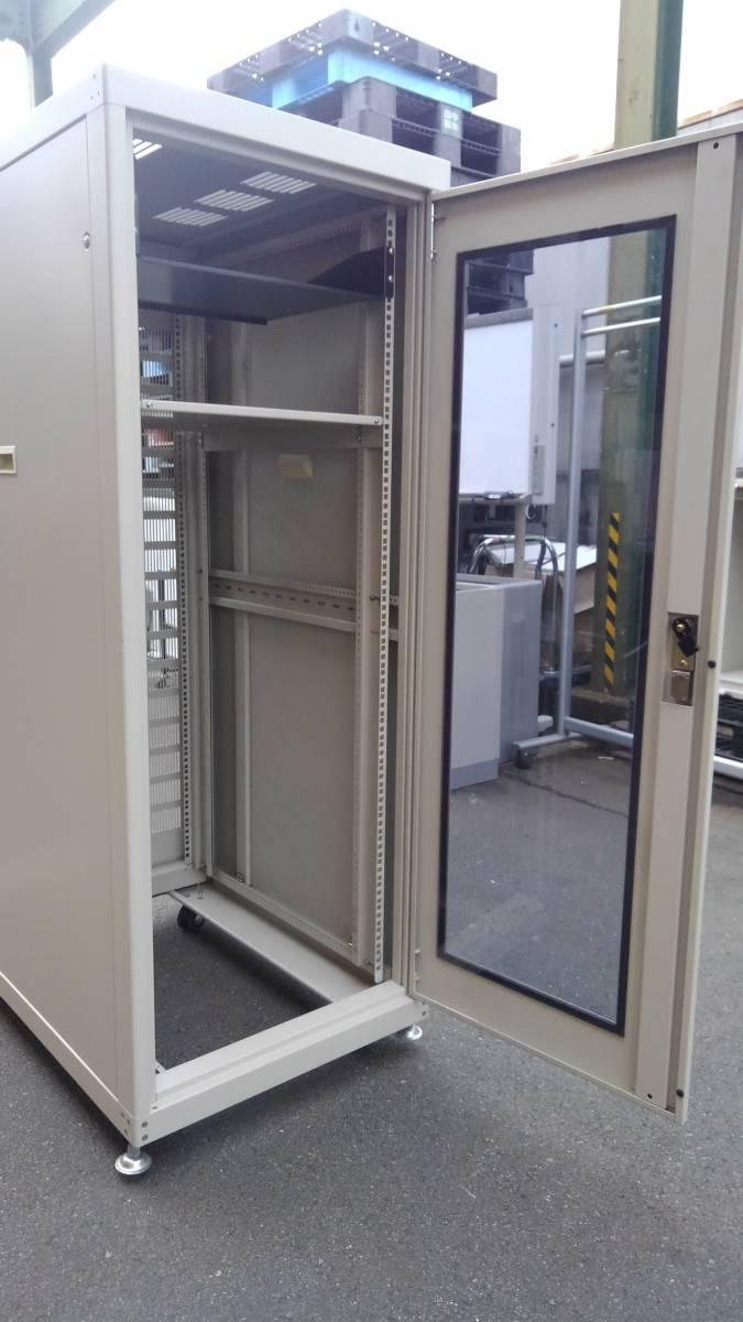摂津金属工業 SNR-30U6090N2 ネットワークラック サーバーラック システムラック 19インチラック 30U 中古美品_画像3