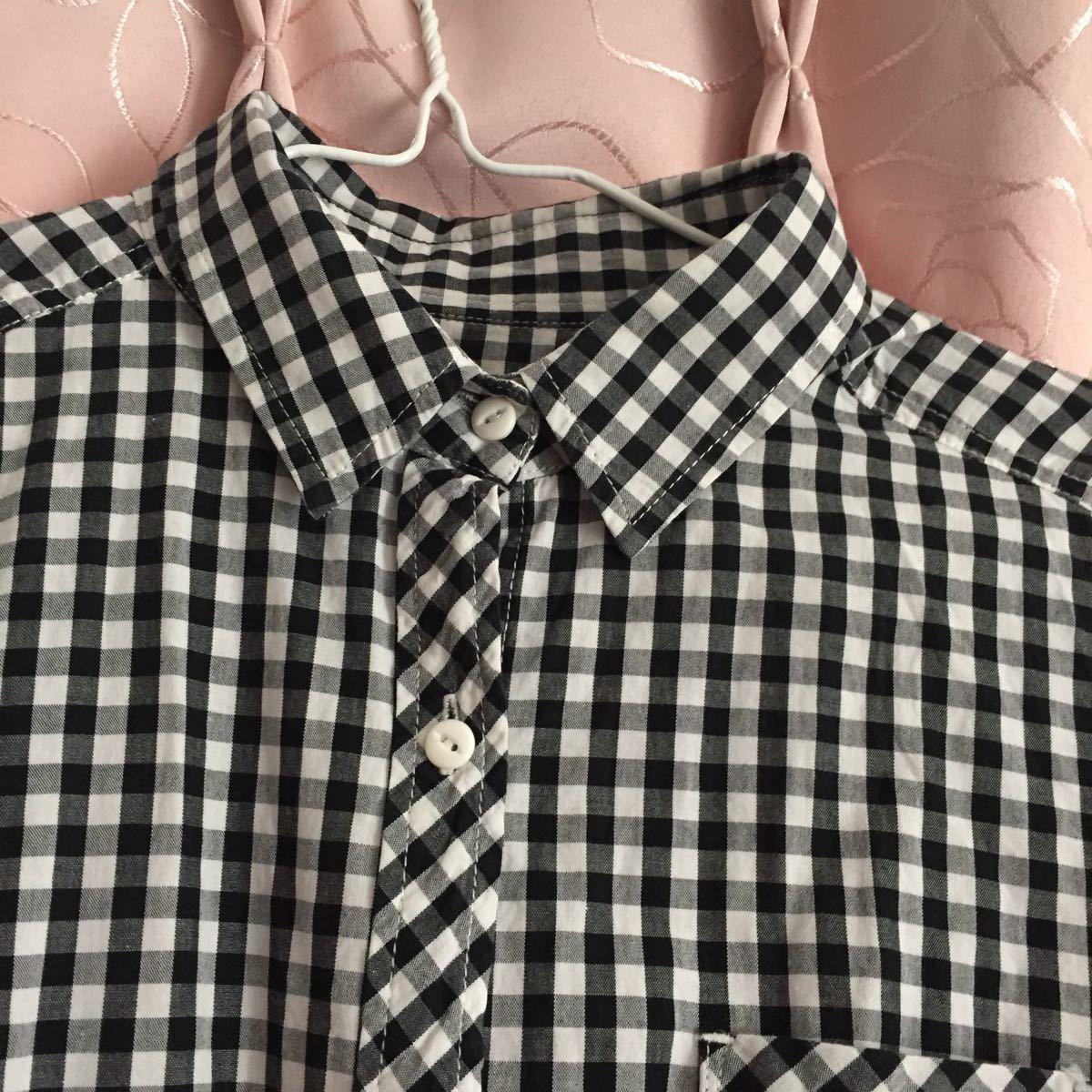 長袖シャツ チェックシャツ