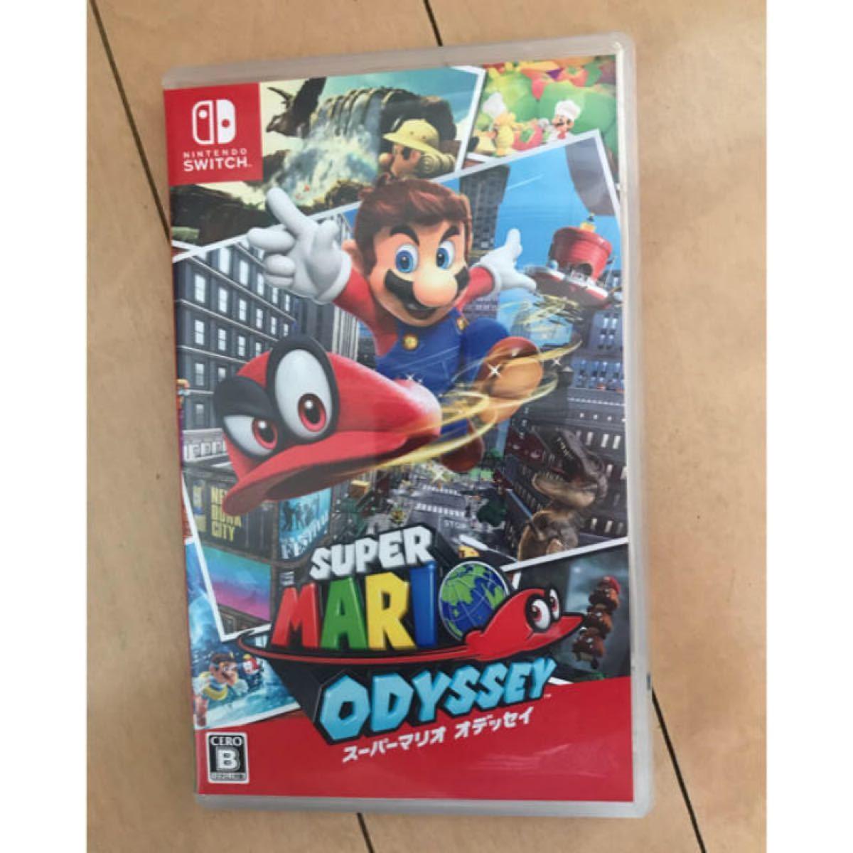 Nintendo Switch スーパーマリオオデッセイ ソフト