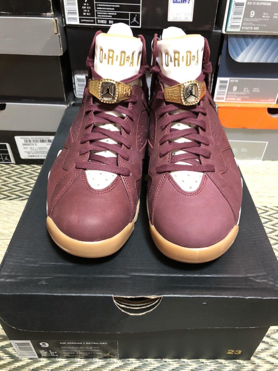 Nike Air Jordan7 Retro C&C(ジョーダン)Ciger us9(27cm)新品_画像1