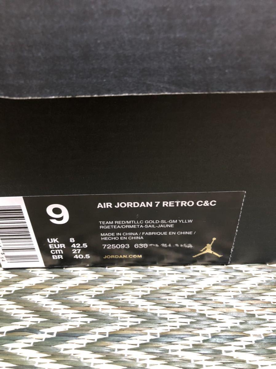 Nike Air Jordan7 Retro C&C(ジョーダン)Ciger us9(27cm)新品_画像5