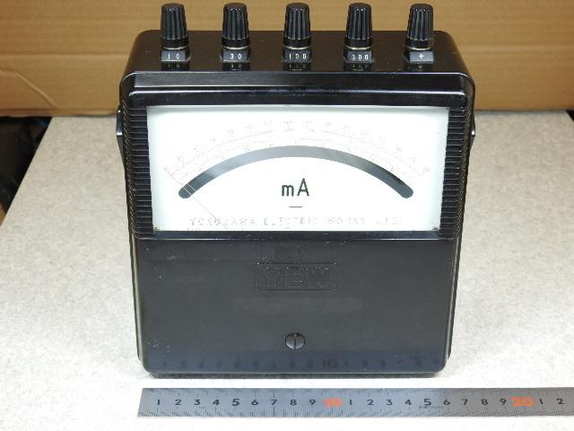 【ジャンク測定器】 YEW(YOKOGAWA) 2011-35 携帯用直流電流計 10/30/100/300mA 本体のみ 付属品無 動作簡易確認済 中古現状渡しジャンク品
