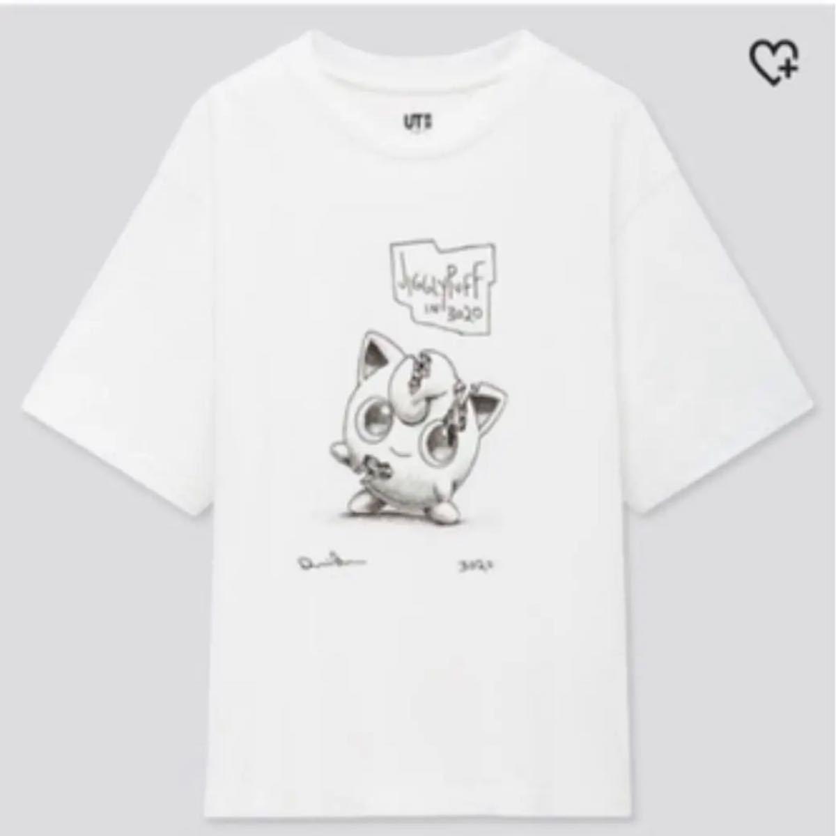 XL ポケモン プリン Tシャツ  ダニエル アーシャム×ポケモン コラボ