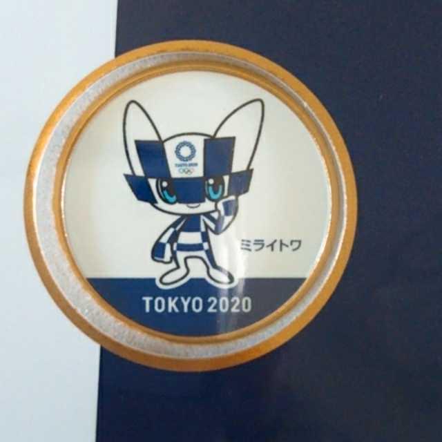 【送料無料】東京2020オリンピック 記念刻印メダリオンセット_画像3