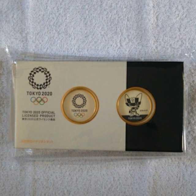 【送料無料】東京2020オリンピック 記念刻印メダリオンセット_画像1