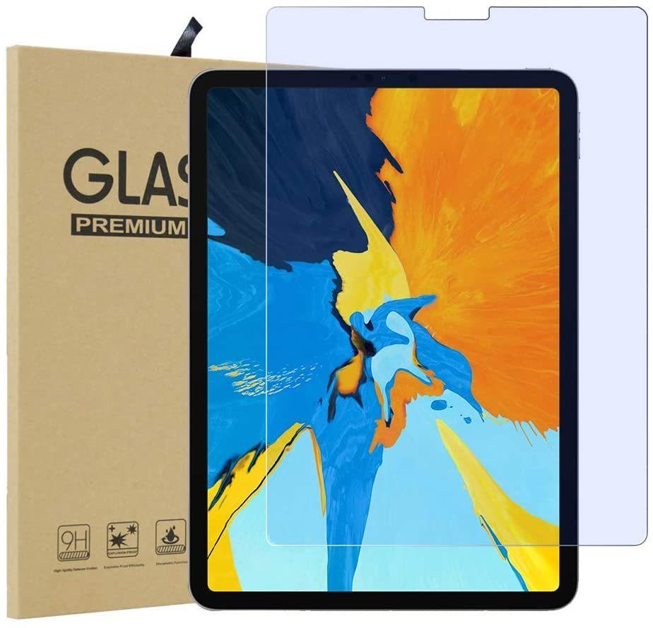 iPad pro 11 ガラスフィルム Face IDに対応 指紋防止 気泡ゼロ 硬度9H 自己吸着 飛散防止 11in iPad pro用液晶保護フィルム 貼り付け簡単_画像1