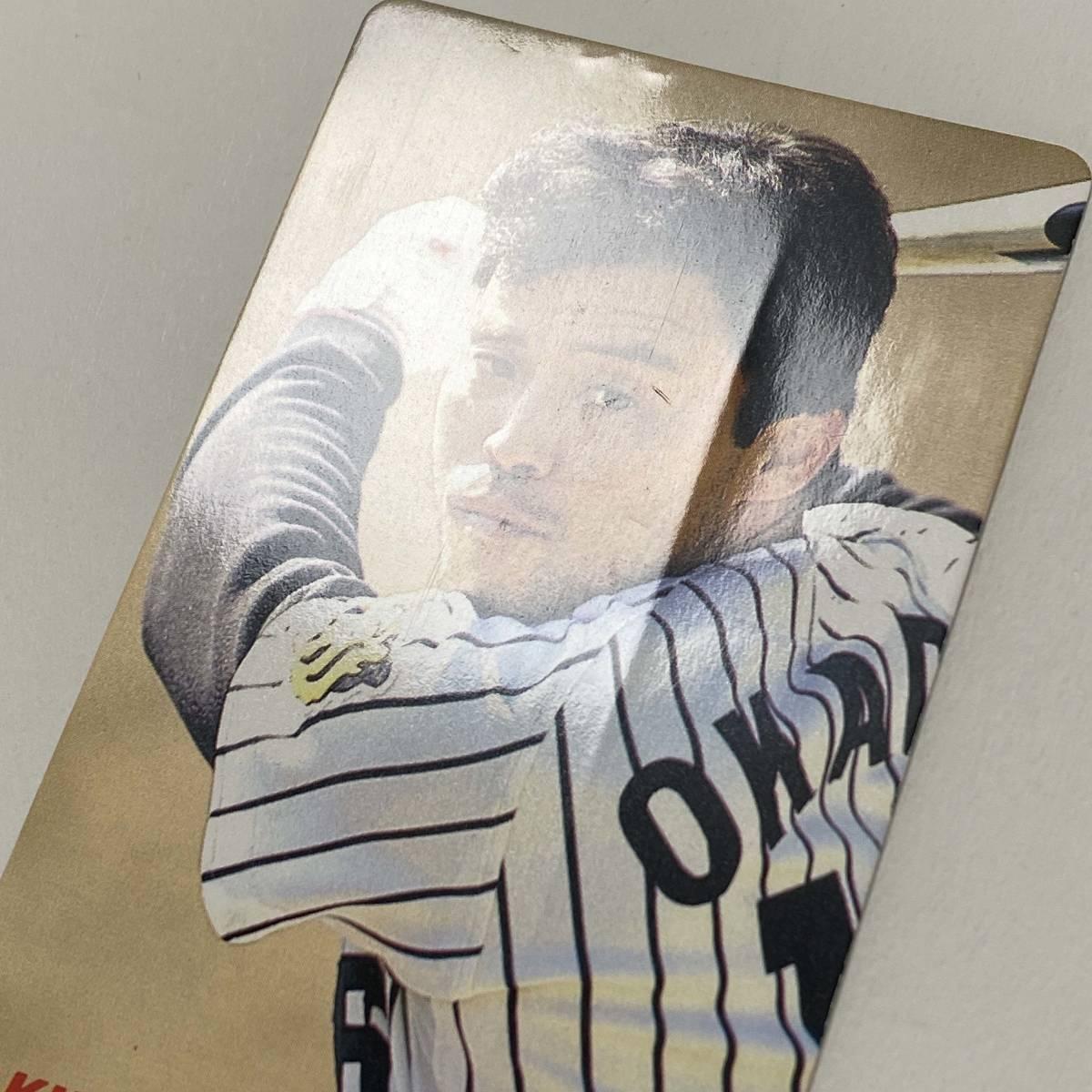FP【当時もの】カルビー 野球 カード 1991年 No.12 岡田彰布 阪神タイガース プロ野球チップス_画像3