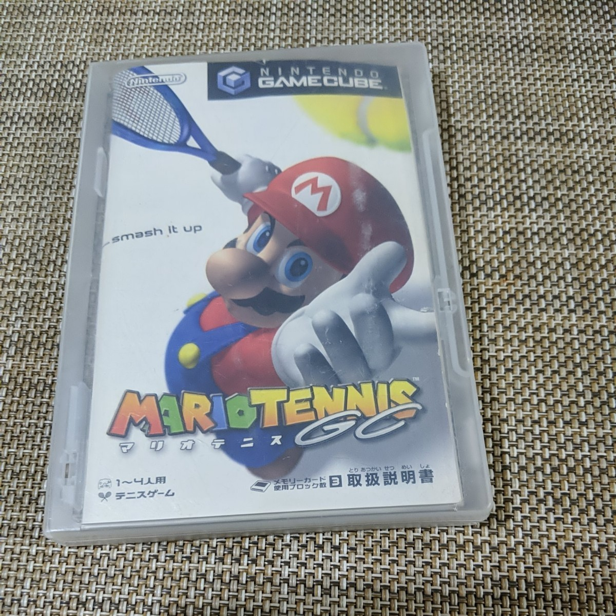 ニンテンドーゲームキューブ マリオテニス