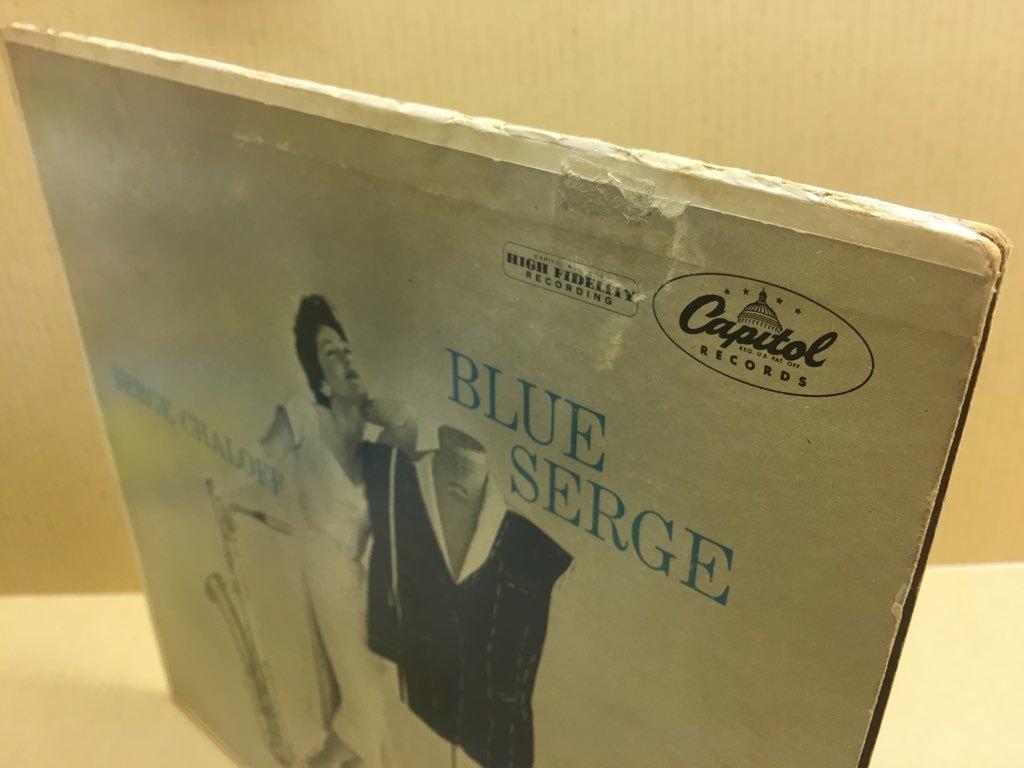 LP Serge Chaloff / Blue Serge USオリジ Capitol T-742 ターコイズラベル MONO 盤美品 サージ・チャロフ ブルー・サージ_画像7