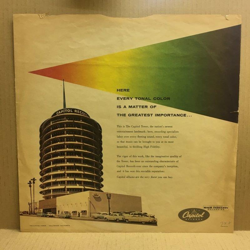 LP Serge Chaloff / Blue Serge USオリジ Capitol T-742 ターコイズラベル MONO 盤美品 サージ・チャロフ ブルー・サージ_画像10