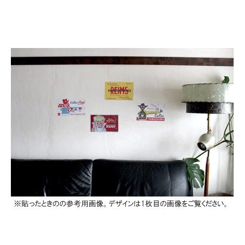 th/Buvard Wall stickers BOIS JOLI ウォールステッカー ビュバーシリーズ  羊 BOIS JOLI フランス毛糸