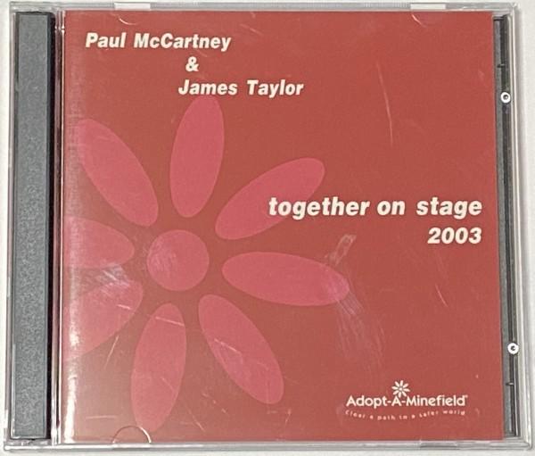 Paul McCartney & James Taylor Together On Stage 2003 2CD
