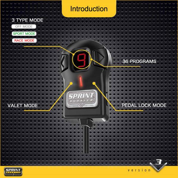 ベンツ SLクラス R230 SPRINT BOOSTER スプリントブースター SL350 SL500 SL550 SL600 SL55 SL63 RSBD451 Ver.3 新品 即日発送_画像7