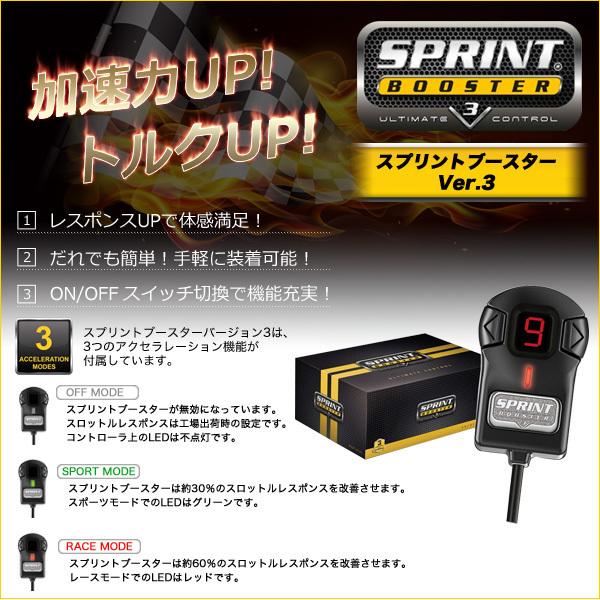 ベンツ CLSクラス W219 SPRINT BOOSTER スプリントブースター CLS350 CLS500 CLS550 CLS55 CLS63 RSBD451 Ver.3 新品 即日発送_画像2