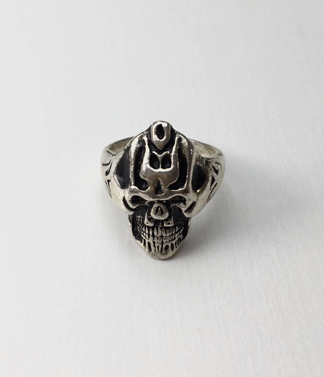 スカル リング 指輪 髑髏 ドクロ 骸骨 ガイコツ SKULL シルバーアクセサリー アンティーク アメリカ USA 雑貨 ヴィンテージ vintage 9_画像1
