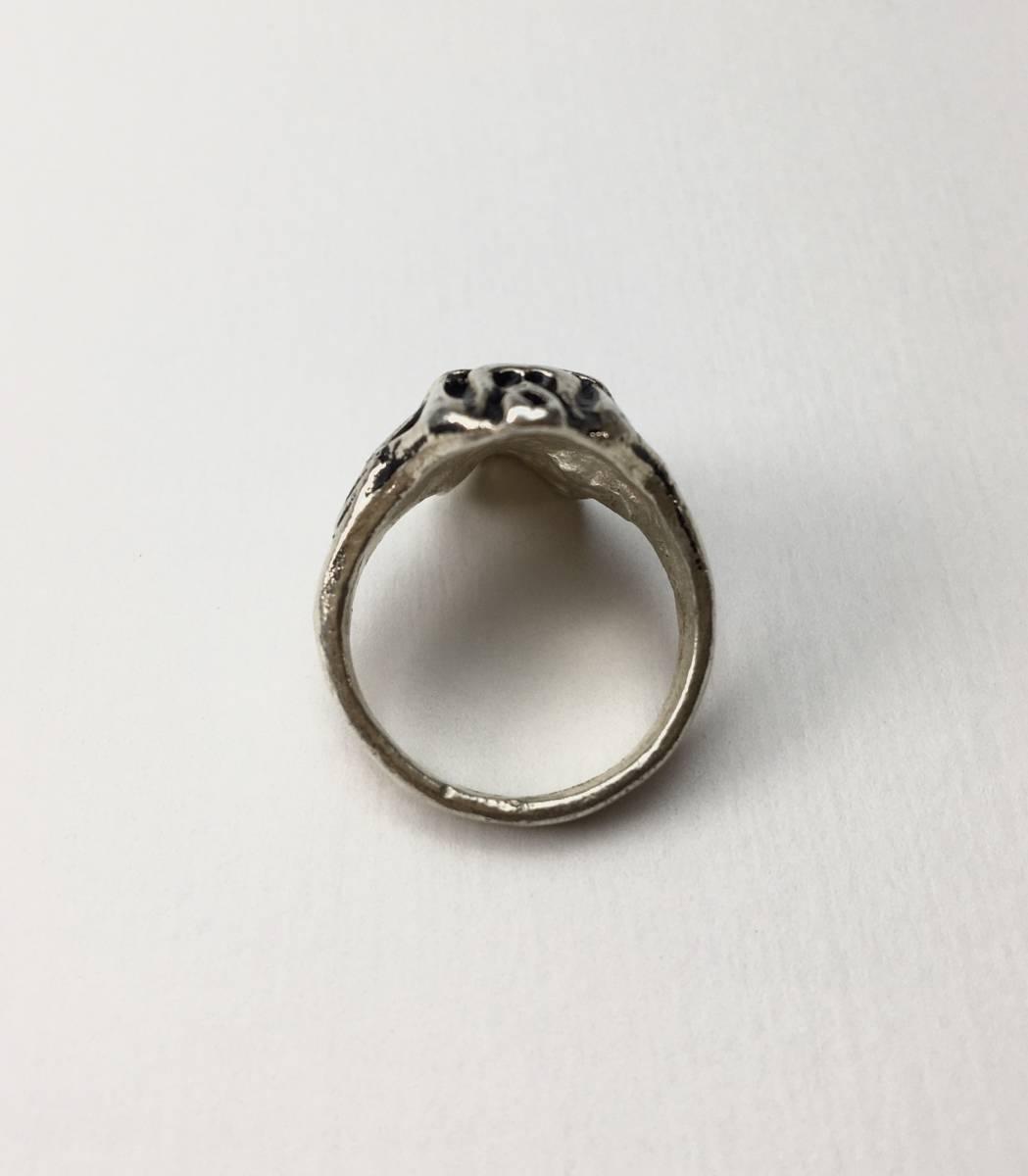 スカル リング 指輪 髑髏 ドクロ 骸骨 ガイコツ SKULL シルバーアクセサリー アンティーク アメリカ USA 雑貨 ヴィンテージ vintage 9_画像2