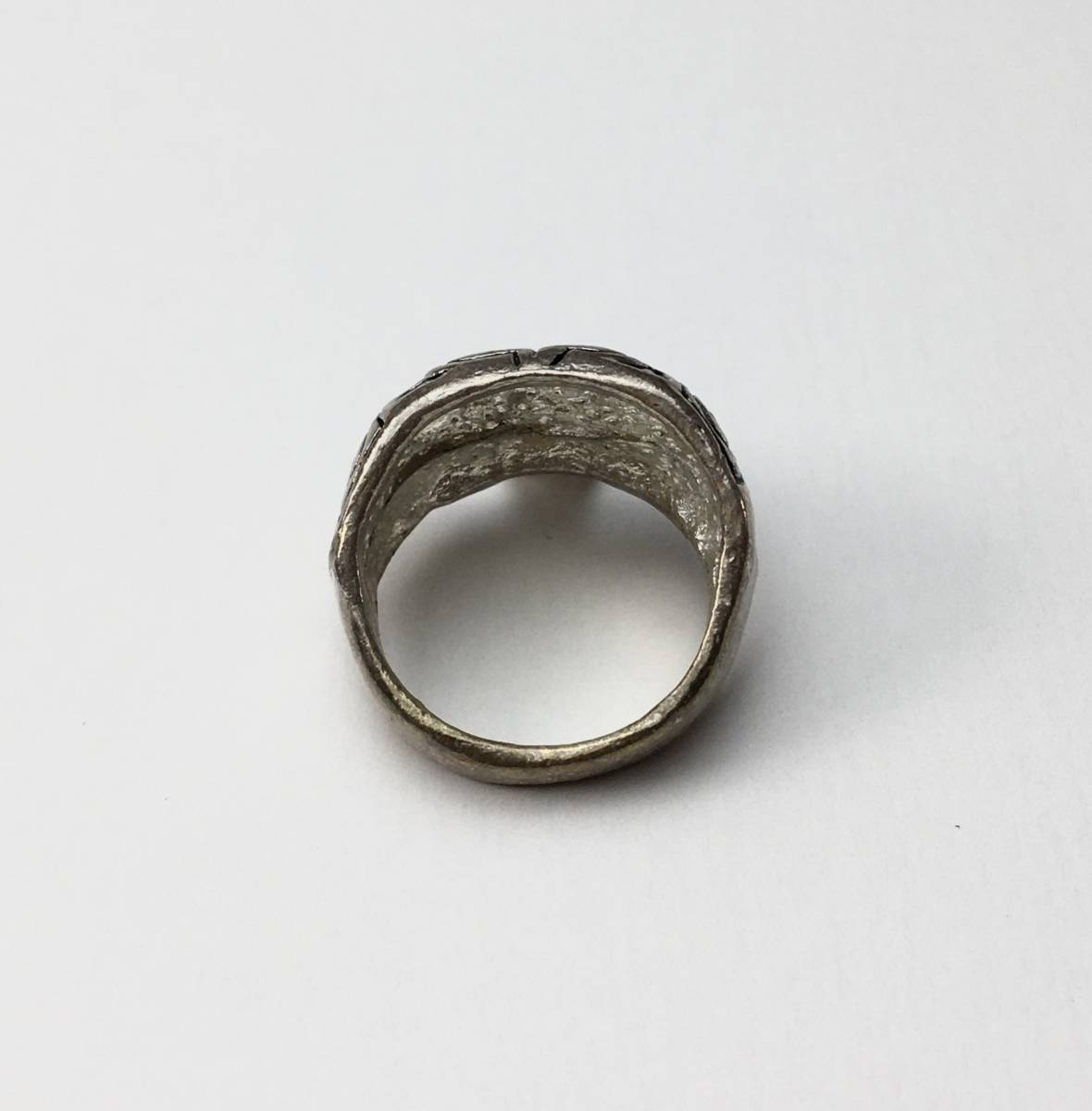 スカル リング 指輪 髑髏 ドクロ 骸骨 ガイコツ SKULL シルバーアクセサリー アンティーク アメリカ USA 雑貨 ヴィンテージ vintage 5_画像2