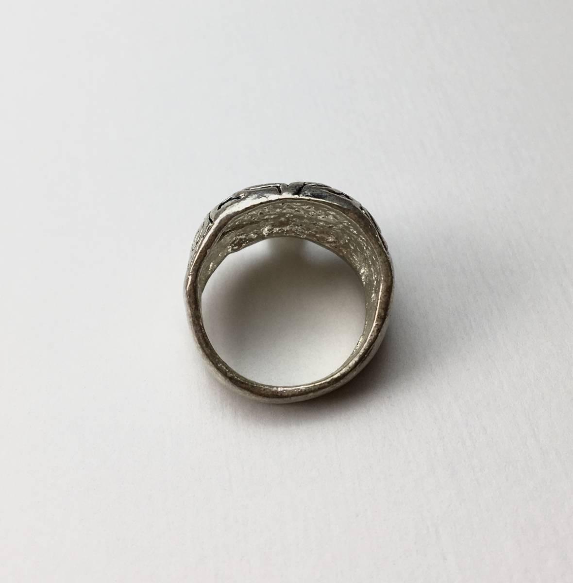 スカル リング 指輪 髑髏 ドクロ 骸骨 ガイコツ SKULL シルバーアクセサリー アンティーク アメリカ USA 雑貨 ヴィンテージ vintage 6_画像2