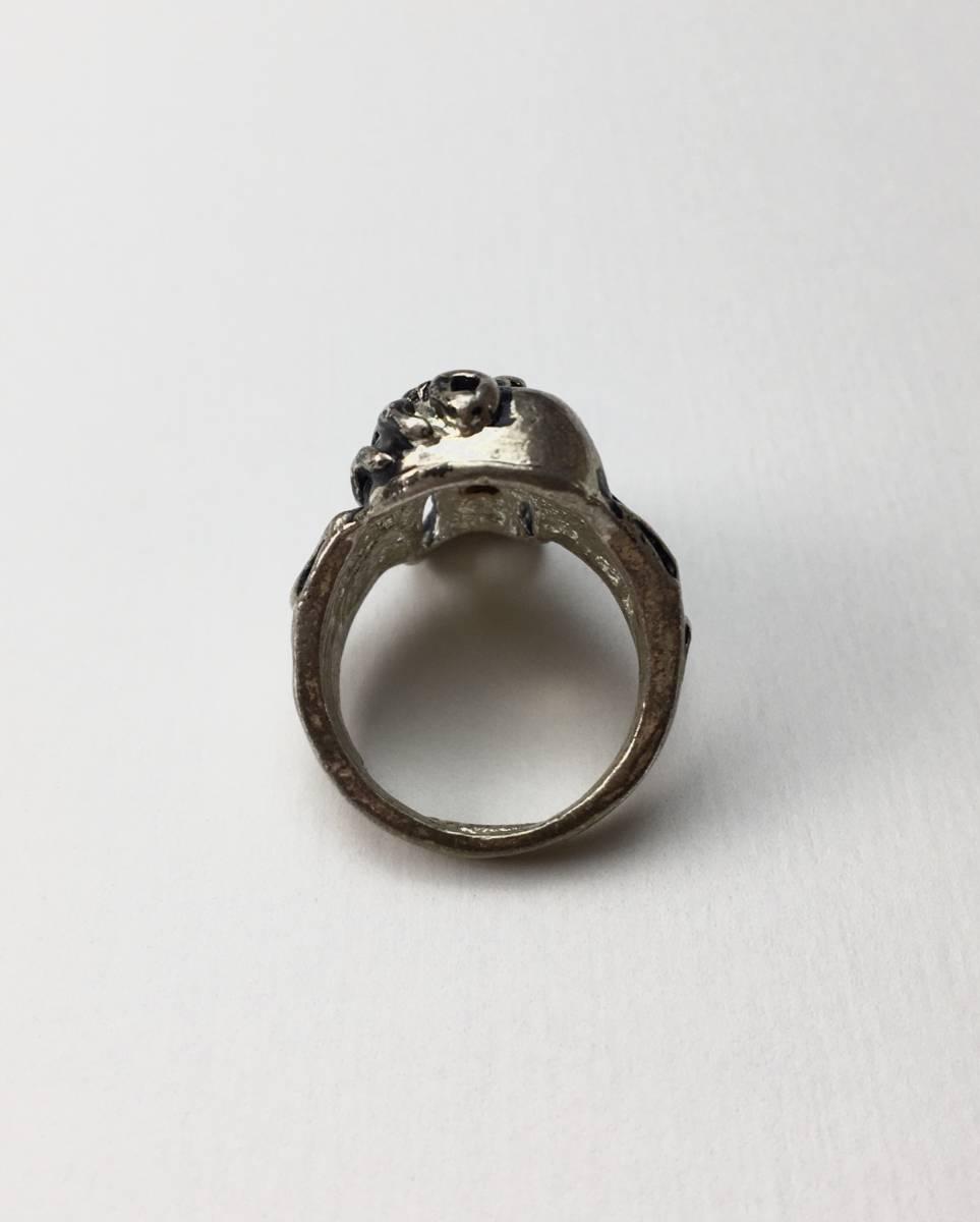 スカル リング 指輪 髑髏 ドクロ 骸骨 ガイコツ SKULL シルバーアクセサリー アンティーク アメリカ USA 雑貨 ヴィンテージ vintage 8_画像2