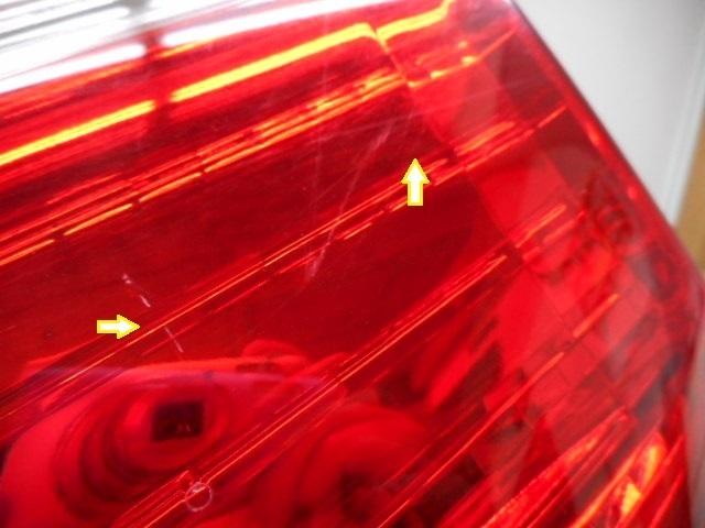 エアウェイブ GJ1/GJ2 テールランプ 左 フィニッシャーランプ付/KOITO 220-22591 中古品[H309-TL1021]_画像7