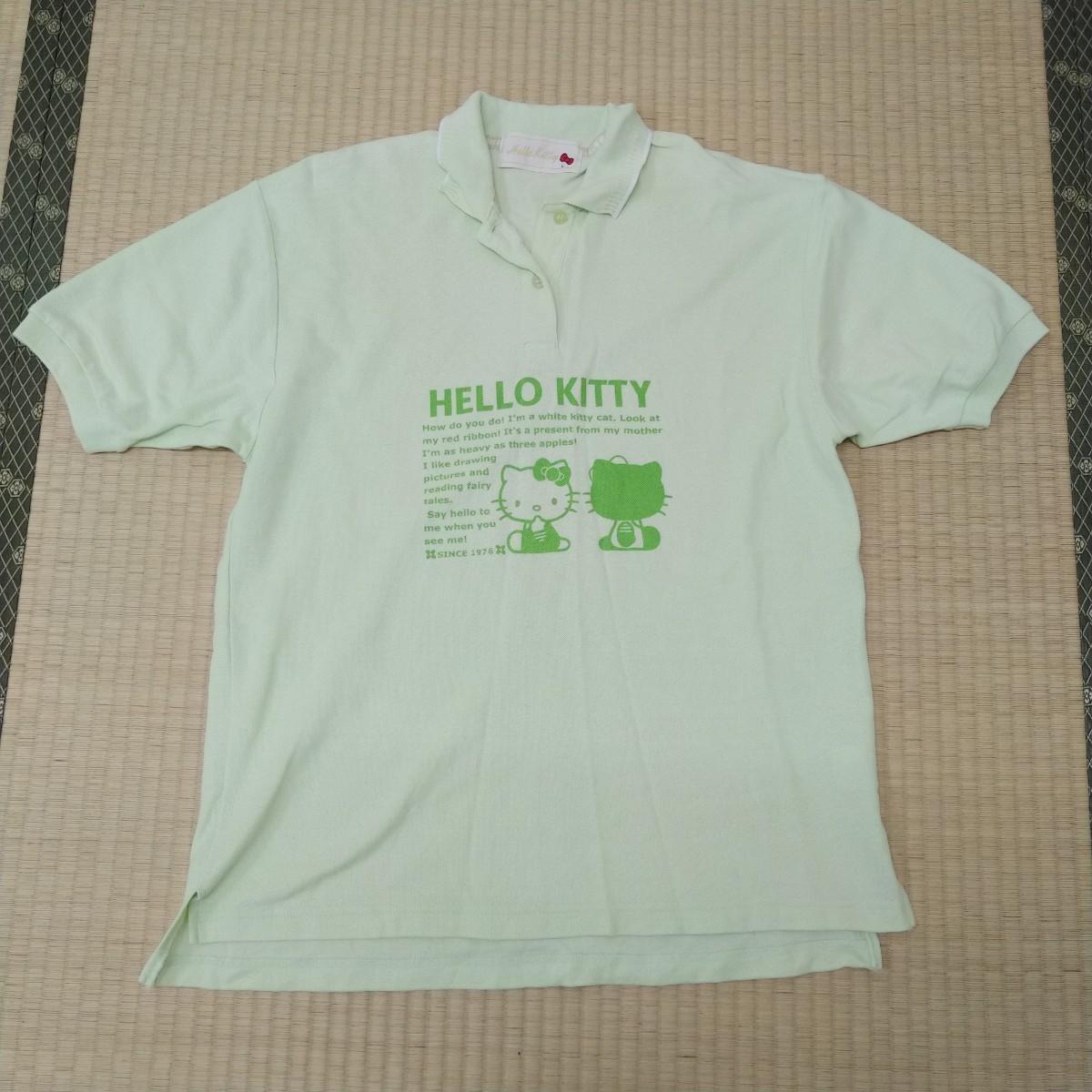 トップス  半袖Tシャツ ポロシャツ ハローキティ